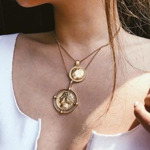 NEW Boho Double Layer Necklace